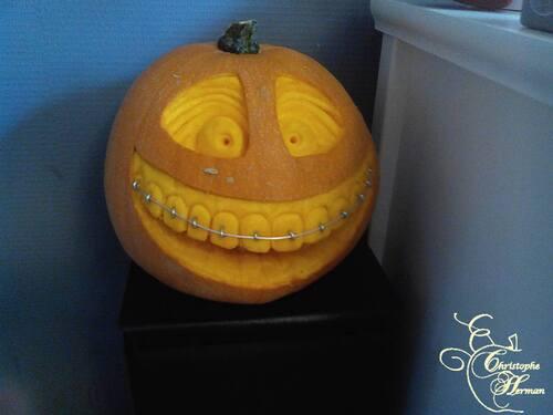 Citrouille du dentiste