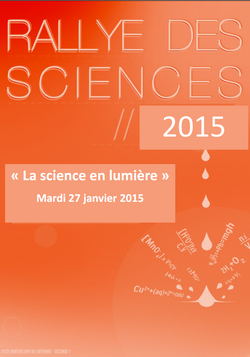 Rallye Sciences 2014