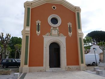 La façade de l'Eglise
