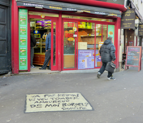 L'amour court les rues, message poétique ou viols ?