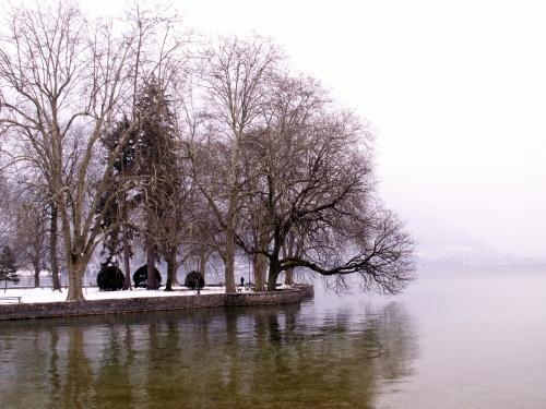 Annecy - lac gelé