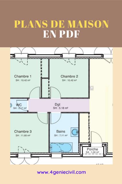 Plan de masion pdf - des exemples concrets