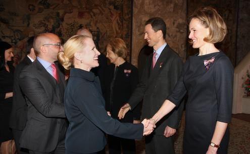 Réception de Nouvel An au château de Vaduz