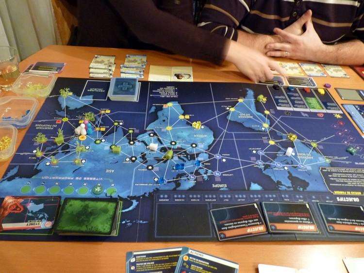 Pandémie Legacy (août 1 en pire)