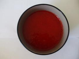 Coulis fraises