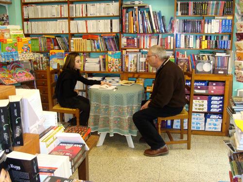 Claude Pujade-Renaud à la Bibliothèque Municipale