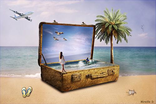 Pour les Vacances (Photomontage)