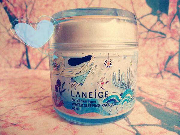 Laneige - Masque de nuit hydratant Water_Ex