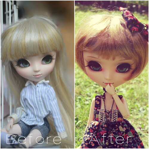 | Customisation de Louise + Point custo de mes autres Dolls |