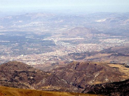 Le Veleta (sierra Nevada, Andalousie)