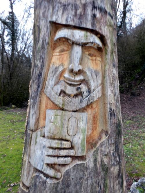 Sculptures à Vongnes