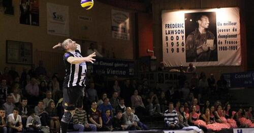 Volley-ball (Ligue B) – Poitiers-Nancy