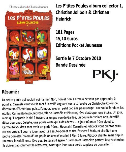 Les P'tites Poules album collector 1, Christian Jolibois & Christian Heinrich