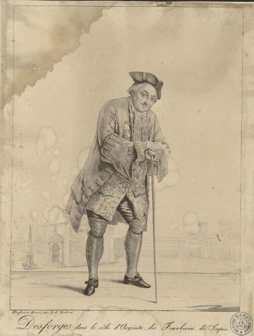 Molière, Argante dans les Fourberies de Scapin