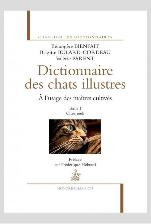 Dictionnaire des chats illustres