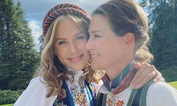 Confirmation de Leah Isadora fille de Martha Louise de Norvège