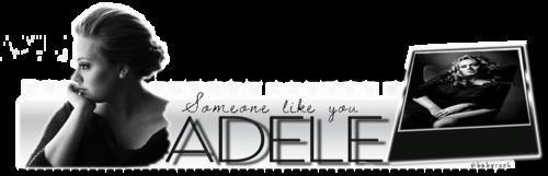 Bannière Adele