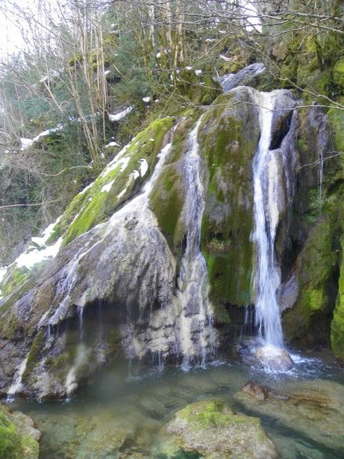 La cascade à la Tuffière