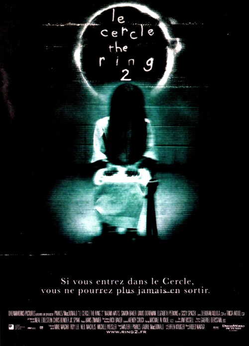 E CERCLE - THE RING 2 BOX OFFICE FRANCE 2005