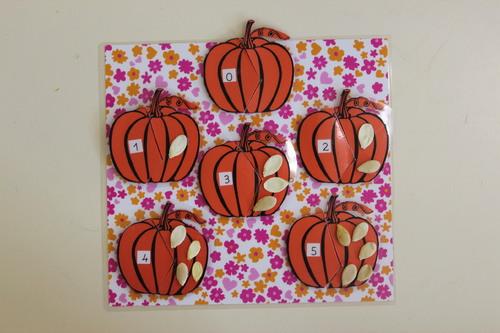 Puzzle mathématique d'halloween