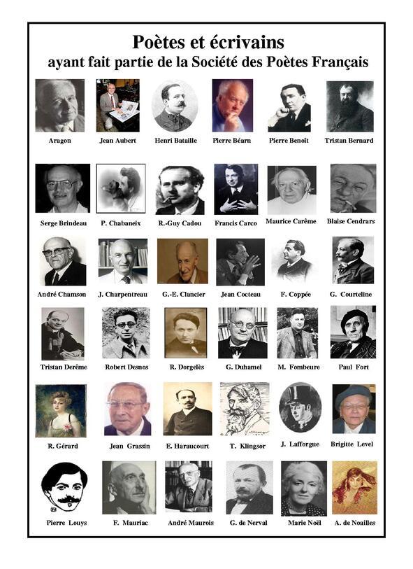 Anciens sociétaires célèbres