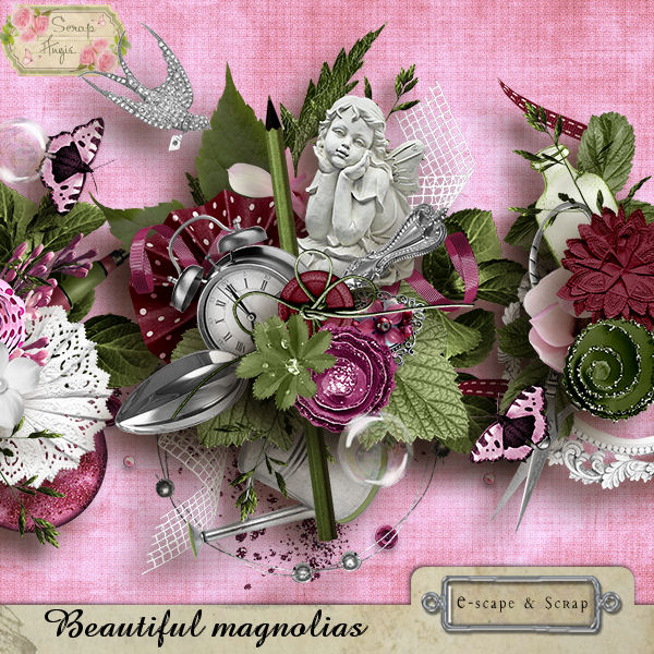 Beautiful magnolias de Scrap'Angie