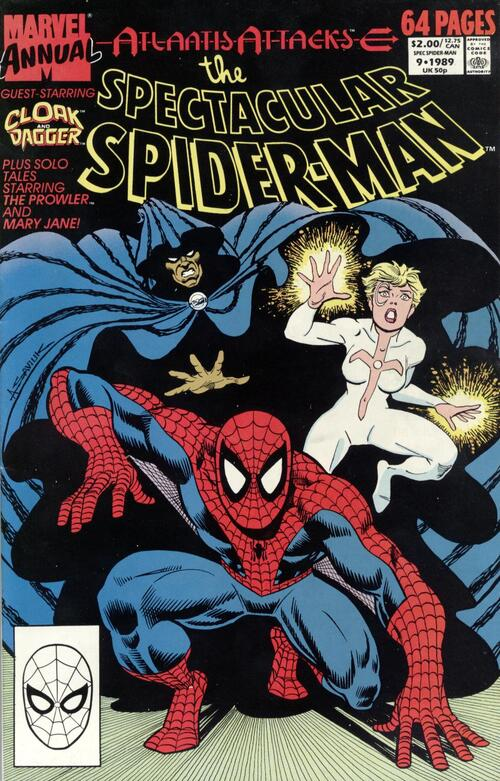 The Spectacular Spider-man Annual 1-10