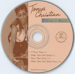 TONYA CHRISTIAN - MAKE U FEEL GOOD/ CAN'T WAIT (EP CDM 1996)