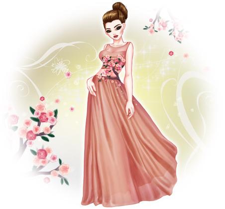 Nouvelle robe aux enchères