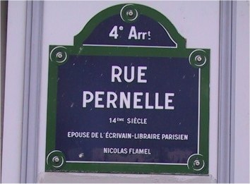 Rue Pernelle Flamel
