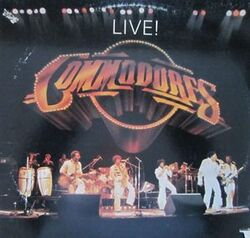 The Commodores - Live - Complete LP