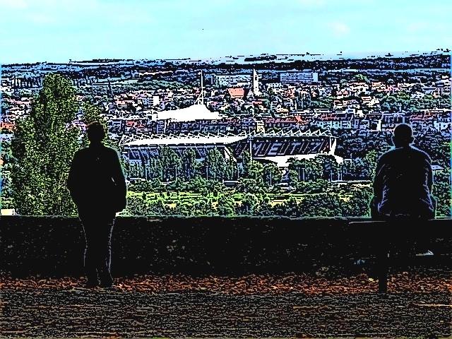 Centre Pompidou Metz vue du Saint Quentin 2 mp13 02 09 2010