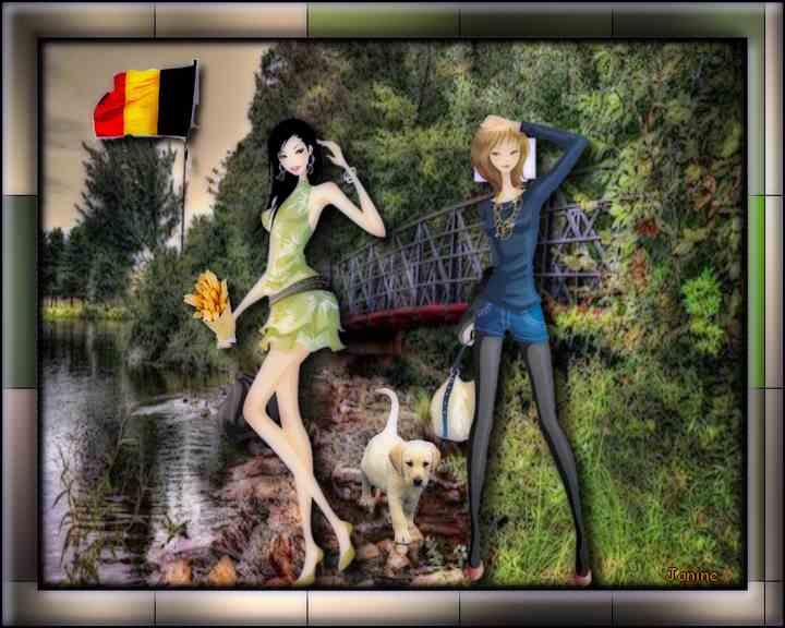 Promenade en Belgique chez Arlette