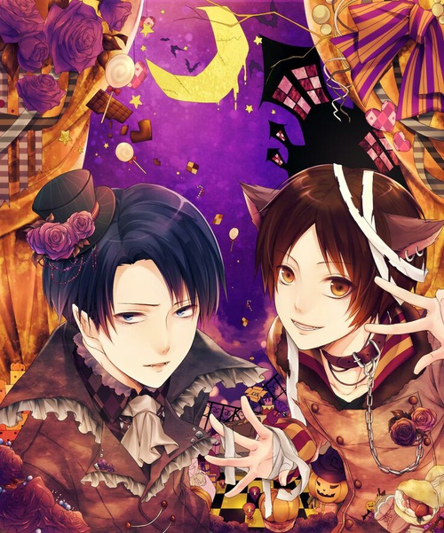 Image de Halloween, levi, and shingeki no kyojin