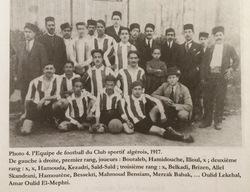 BENSIAM Mahmoud membre du Club Sportif Algérois