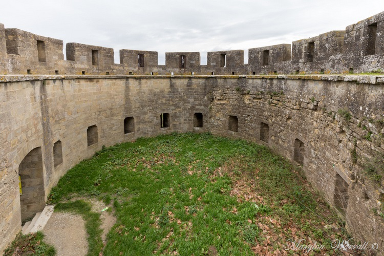 La Cité de Carcassonne confinée