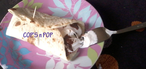 Wrap Nutella chamallow...