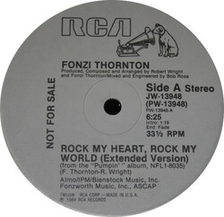 Fonzi Thornton - Rock My Heart, Rock My World