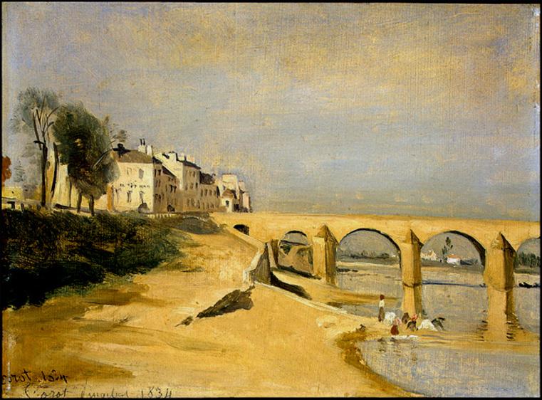 Pont sur la Saône à Macon