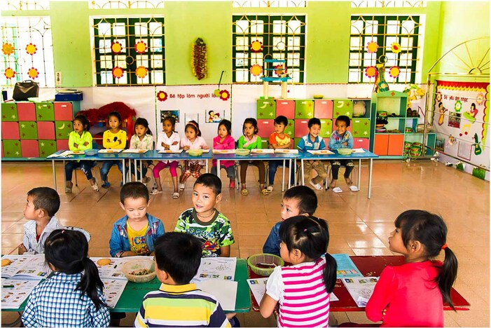Ecole entre Sapa et Than Uyen