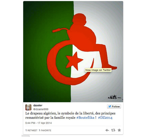 La chaos complet de l'Algérie ..