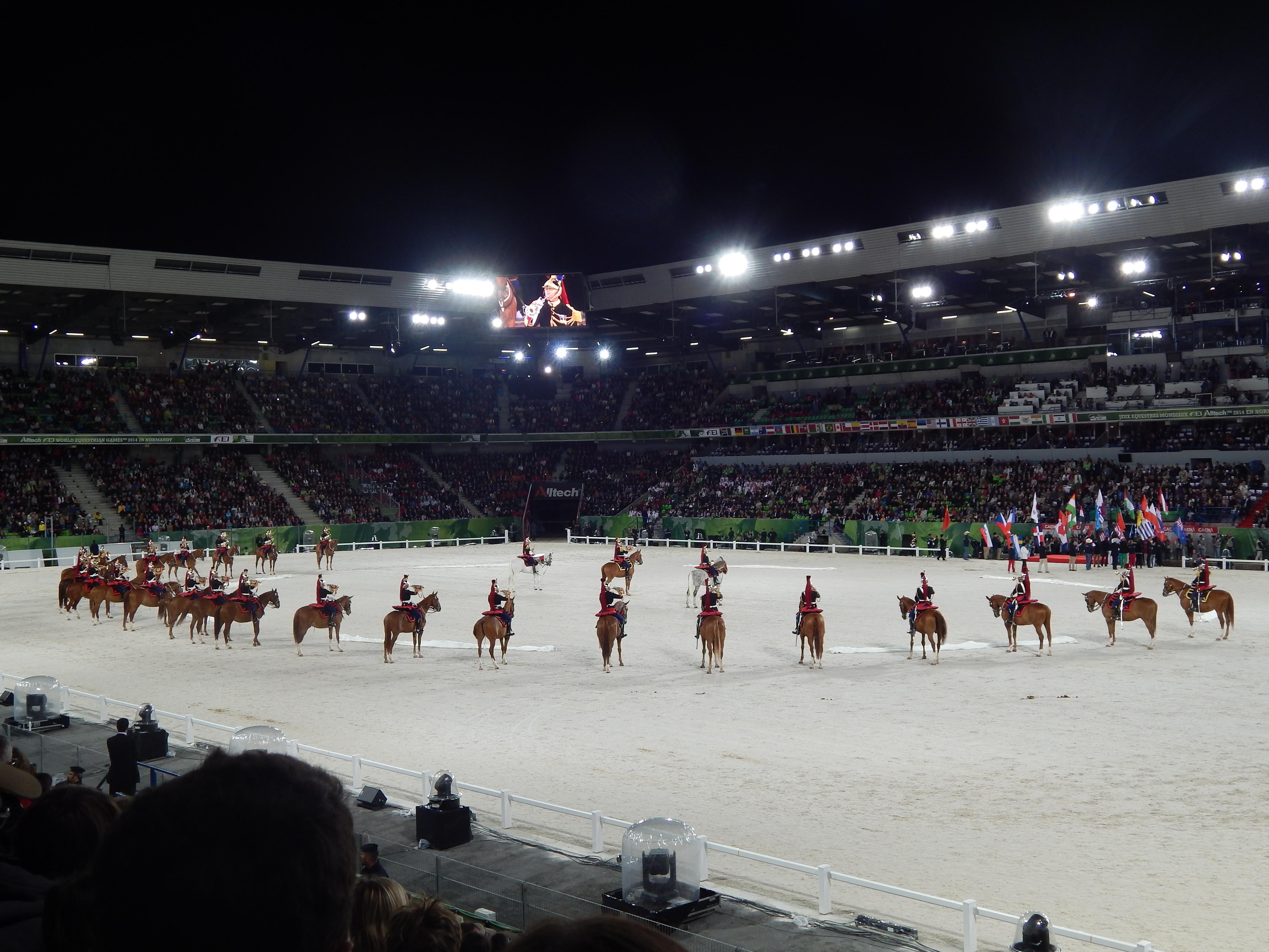 Une soirée à la Cérémonie d'ouverture des Jeux Equestre Mondiaux