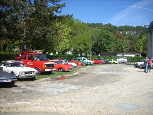 Rassemblement annuel du club AVAVAL à Artemare