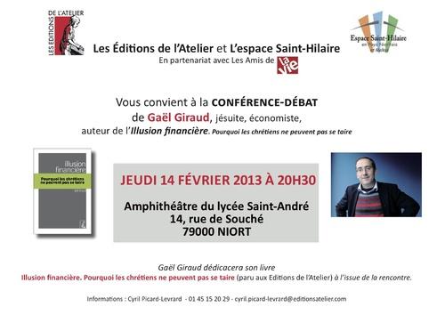 Gaël Giraud et l'illusion financière