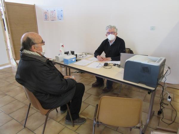 A Châtillon sur Seine, le centre de vaccination contre la COVID 19 fait le plein !