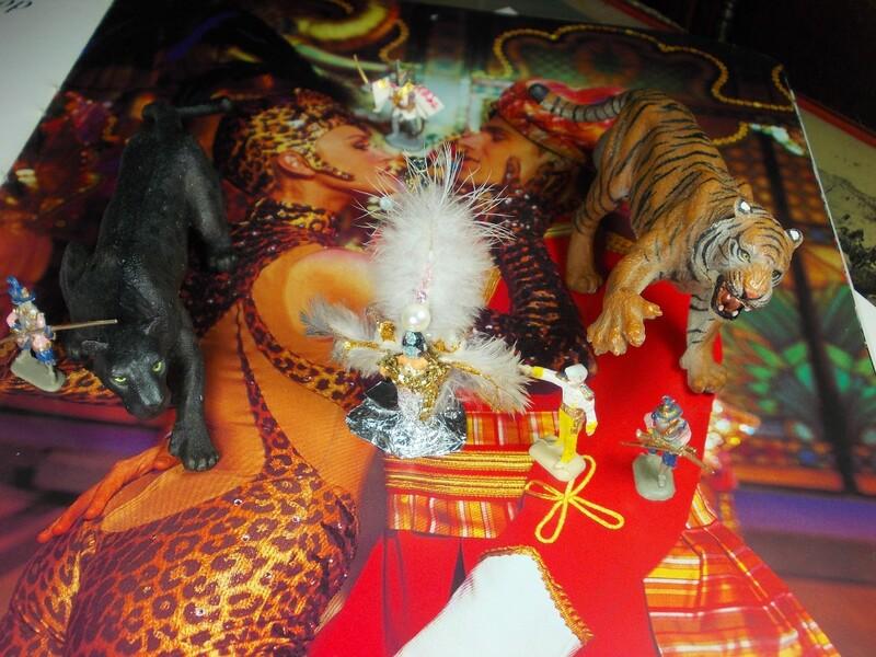 Aujourd'hui : une candidate, des ruines en sucre, c'est Noël, le temps qui coule et encore du cabaret