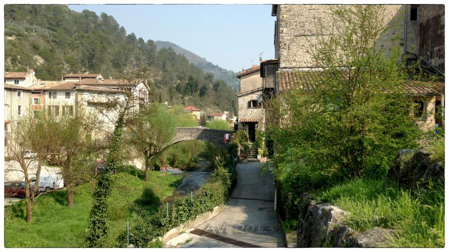 Petite randonnée à L'Escarène