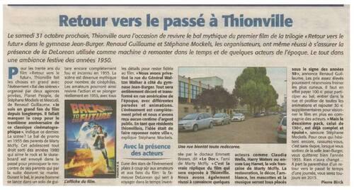 Retour vers le futur à Thionville (57)