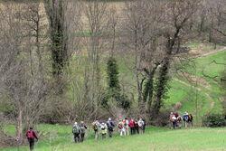 11 Avril- Randonnée commune à Soyans
