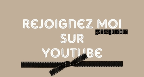 Ma toute nouvelle chaine youtube